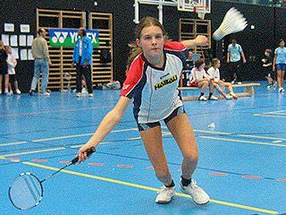 Alexandra Schwetz scheiterte nur knapp im U13-Dameneinzel-Finale.
